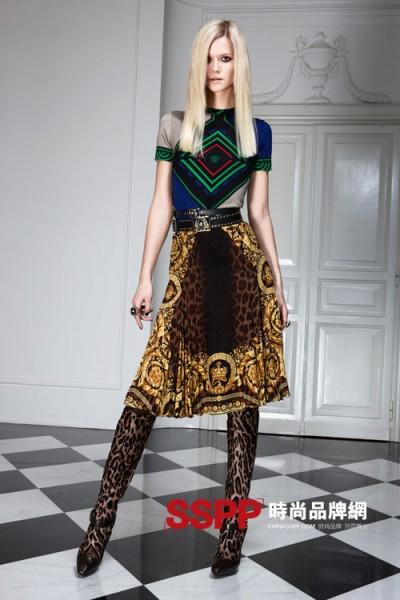 范思哲Versace女装2011早秋系列新品目录