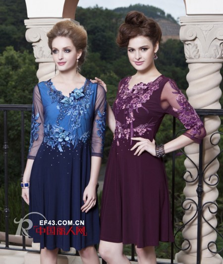中年女性穿什么颜色好看 中秋佳节送妈妈葡萄紫单品优雅显气质