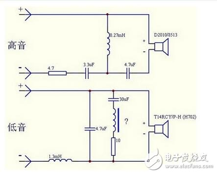 Explain several common frequency dividers and speaker divider circuit diagrams