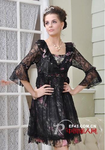 梦丽莎女装 简约欧陆宫廷风格塑造优美曲线