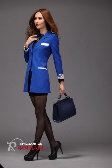 宝蓝色的服装哪种款式好看 宝蓝色服装搭配