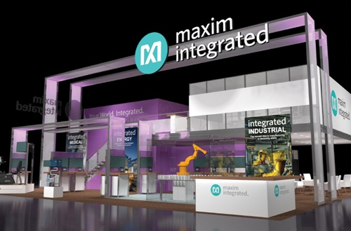 Maxim exhibits at electronica 2014 booth