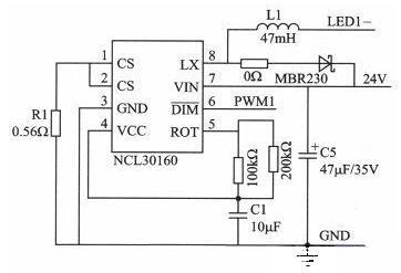 Drive circuit diagram