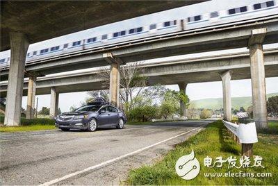 Driverless version Acura RLX test