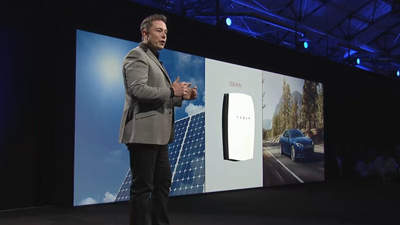 Tesla battery products