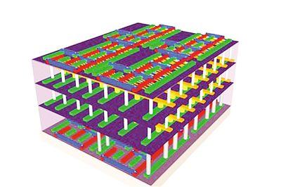 3D carbon nanotube computer chip came out