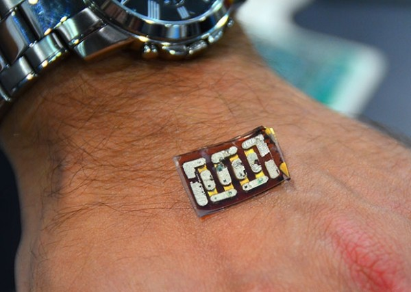 This new sensor collects energy from your body