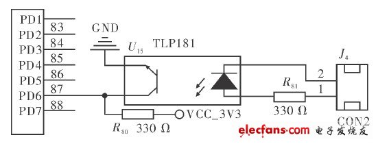 Red light treatment instrument water protection circuit