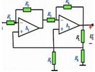 Negative feedback amplification electronic circuit design and principle analysis