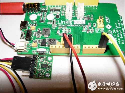 Use LinkIt ONE to power the robot