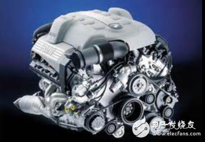 Domestic automobile engine structure