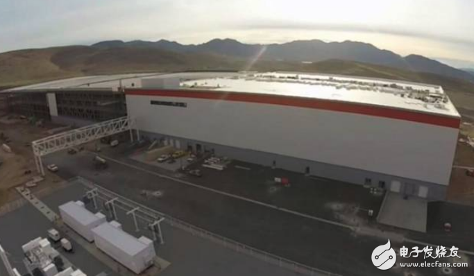 Tesla builds a gigabit factory for lithium batteries around the world.