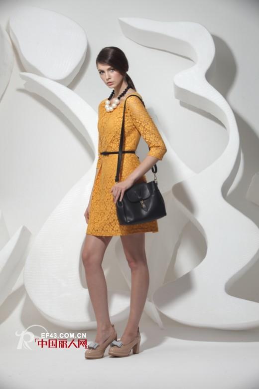 2014春夏连衣裙新品 穿出时尚新格调