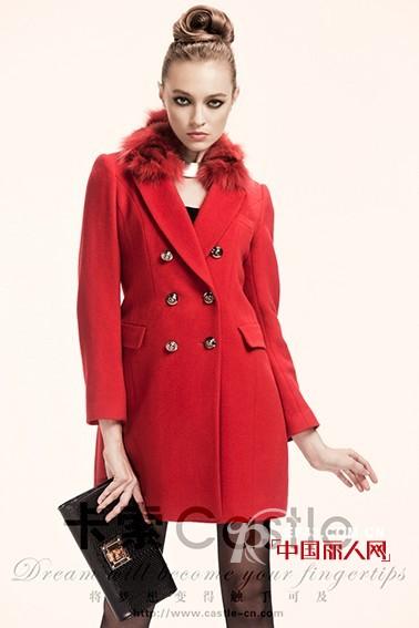 卡索2012秋冬装 就是要你红