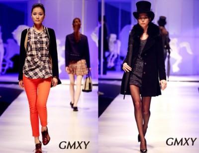 GMXY2012冬装发布会——梦想与现实如此接近