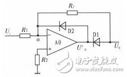 Half wave high precision rectifier circuit