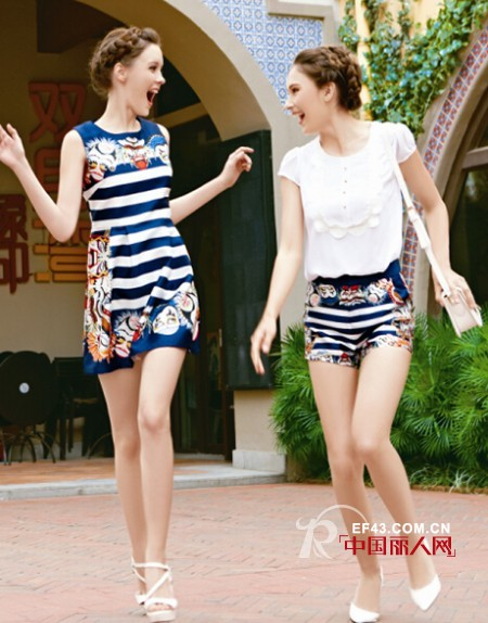 端午出游穿什么 时尚闺蜜装与闺蜜结伴同行
