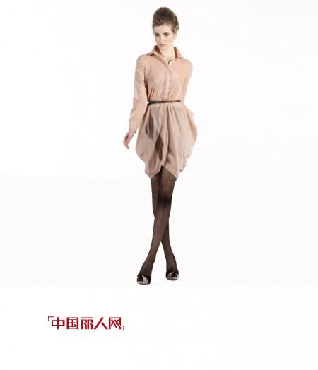 缤蔓2012时尚衬衫 演绎OL洒脱俊美气质