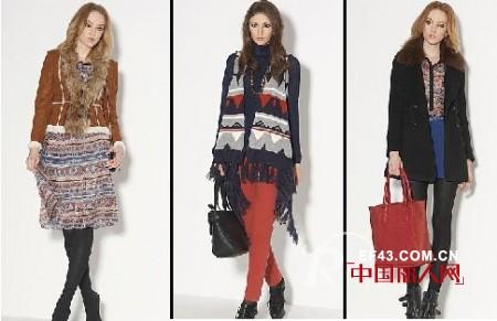 索典R&D女装   充分体验对法式时尚的热爱