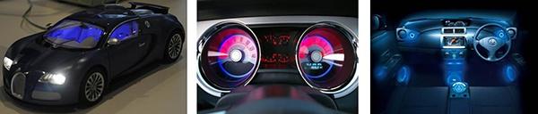 Figure 2: RGB driver for automotive interior lighting