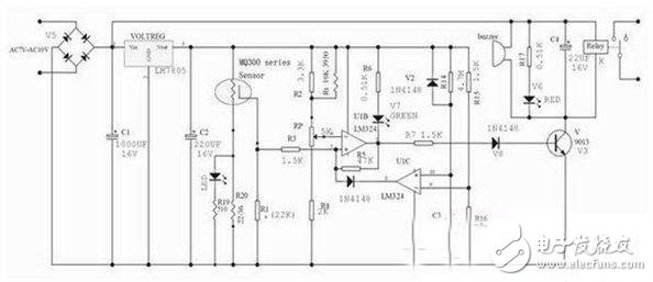 Detailed description of the design of the car protection circuit system - the circuit diagram read every day (243)