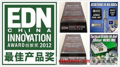 "ADI won five awards including ""Best Automotive Electronics Solution"""