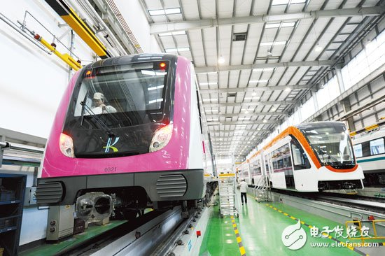 """""""CRRC"""" leads high-end intelligent manufacturing to bring unlimited power to Zhuzhou_Intelligent manufacturing, digital factory, industrial automation"""