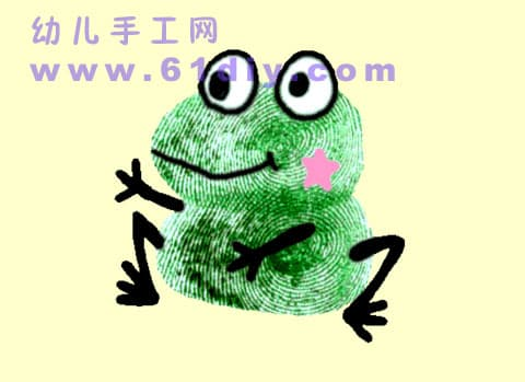 Fingerprint: Little frog