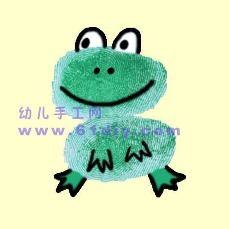Fingerprint: Little Frog 2