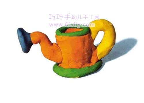 Plasticine works - watering can