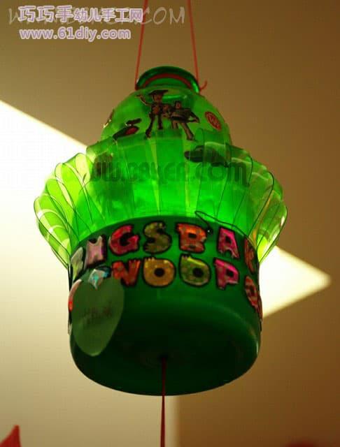 Holiday Lantern-13 - Handmade Lanterns 4 in Kindergarten Corridor, Standard Waste Recycling
