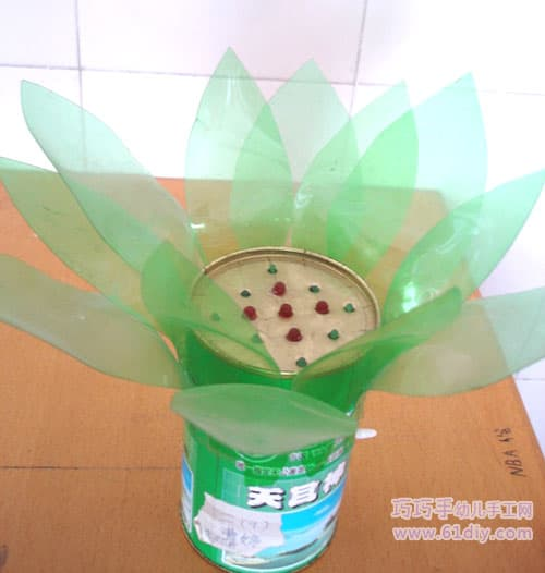 Children's environmentally friendly hand-made lotus
