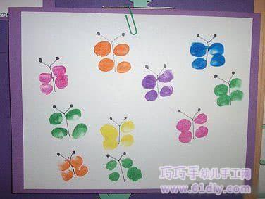 Fingerprints - groups of butterflies