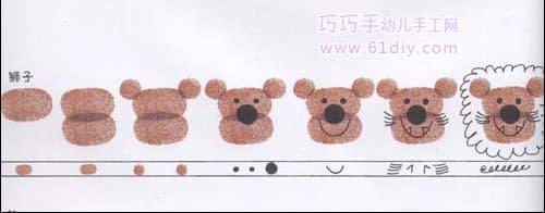 Lion's fingerprints