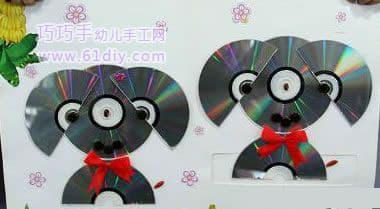 CD puppy stickers