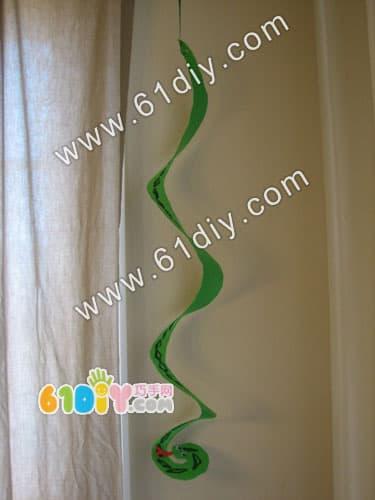 Handmade snake practice
