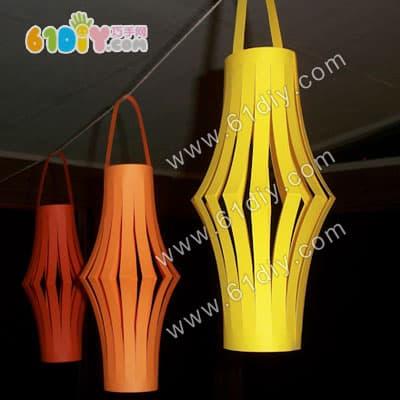 Simple lantern DIY