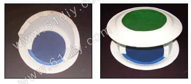 Tray lantern production diagram