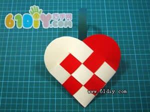 Weaving love handmade