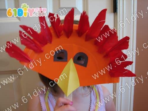 Tray turkey mask