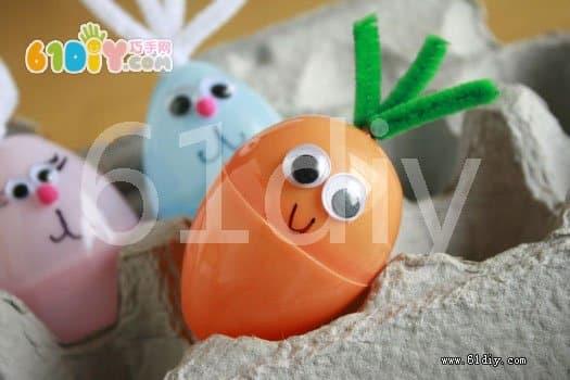 Easter eggshells change