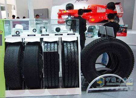 Michelin retreaded tires
