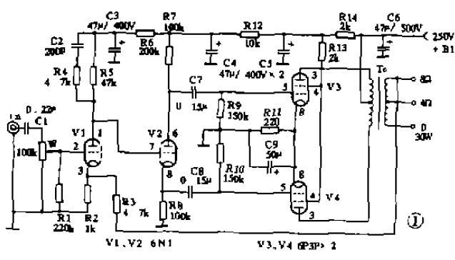 Debug-free last typical power amplifier circuit
