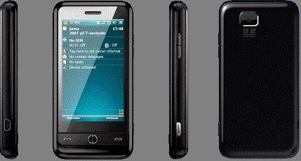 Shengyao's Windows Mobile 6.5 smartphone