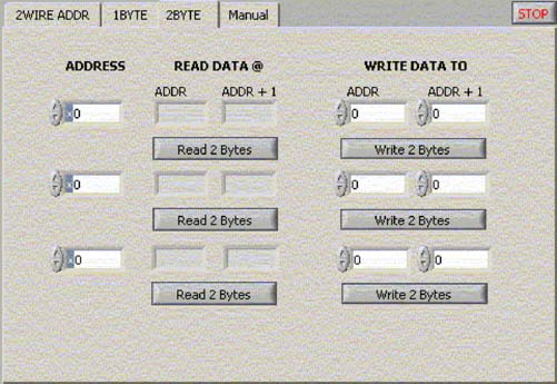 Figure 3. The 2BYTE tag allows users to read data from two registers.