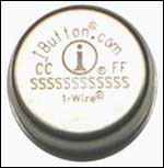 Figure 3. The 16mm-diameter <u> i </ u> Button package protects the 1-Wire chip inside from harsh environments.