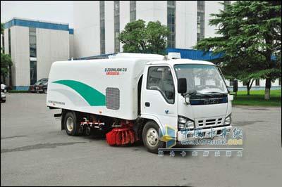 Zoomlion sanitation vehicle