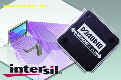 Intersil launches WIDESound