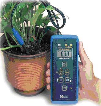 Soil acidity recorder