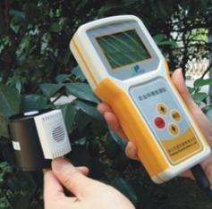 Temperature illuminance recorder